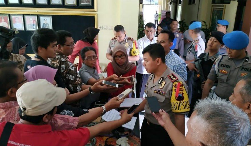 Tersangka Tawuran Pelajar Magelang Jawa Tengah yang